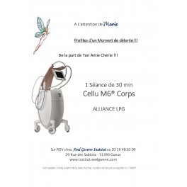 Cellu M6® Corps  ALLIANCE 30 min LPG Détox ou Relax